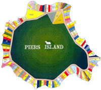 Piers Island Map
